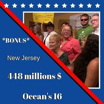 Groupe Ocean's 16 du New Jersey, 448 millions