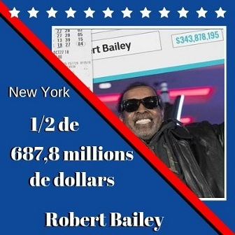 Robert Bailey de New York, 687,8 millions $