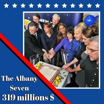 The Albany Seven de New York, 319 millions de dollars